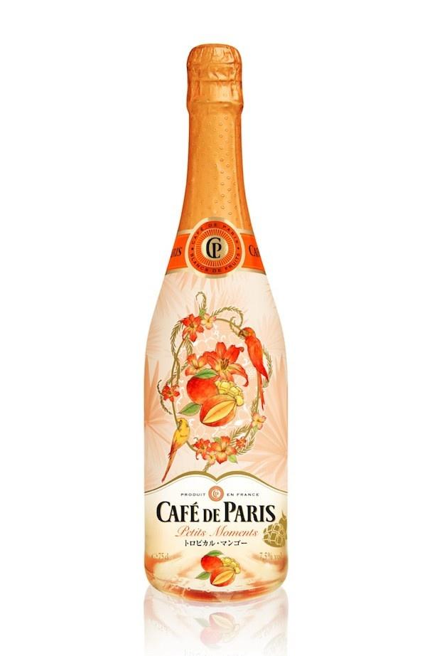 【写真を見る】今日のワタシに、ご褒美を「カフェ・ド・パリ プチ・モーメント トロピカル・マンゴー」