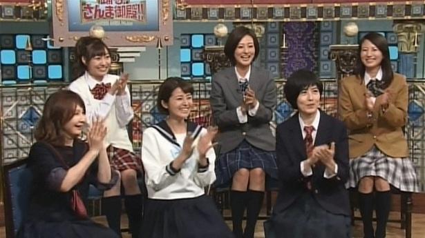 5月30日放送の「踊る!さんま御殿!!」は「男子校VS女子校」をテーマにゲストたちがトークを繰り広げる