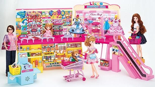 お店屋さん遊びの決定版!「セルフレジでピッ! おおきなショッピングモール」
