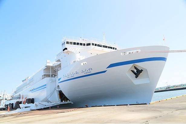 新造船「NEWさんふらわあ ふらの」が5月13日より運航中