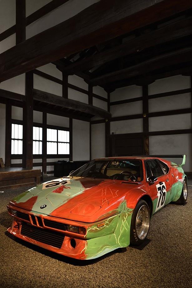 BMW ART CARを見ることが出来る滅多にないチャンス!ぜひチェックしよう