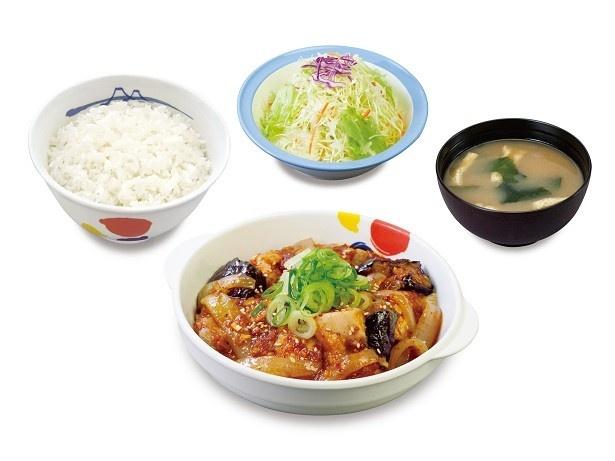 「鶏の甘辛味噌定食」(630円)