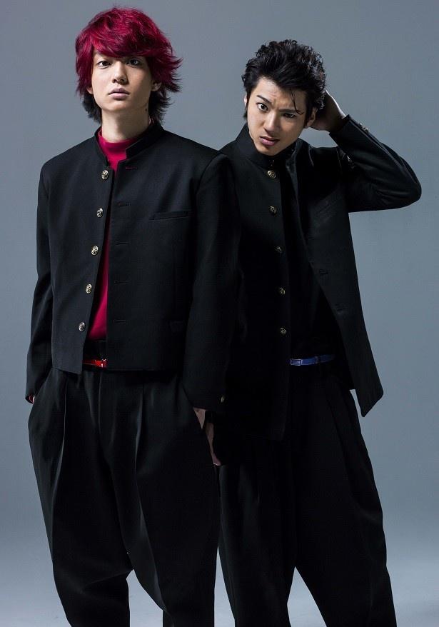 映画「デメキン」で健太郎(左)と山田裕貴(右)がタッグを組む