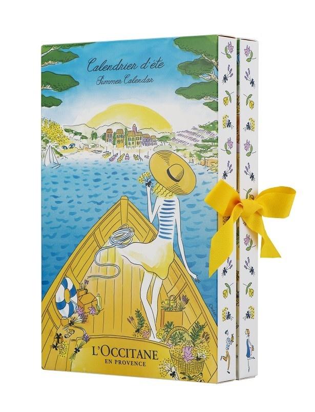 【写真を見る】オーレリー・キャステクス氏のイラストが全面に描かれたボックス
