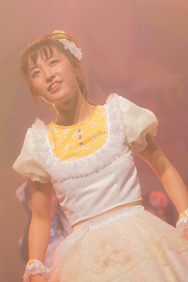 汐咲玲亜(れいあん)は「これから5年目に入るんですけど、FES☆TIVEも甘えていられない歳になりました」と話す