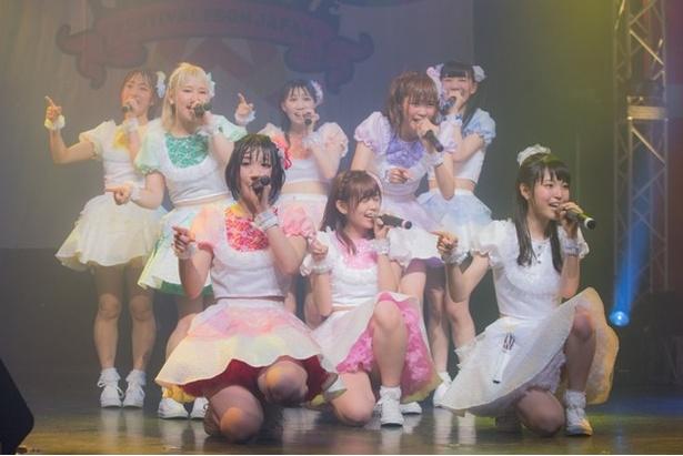 FES☆TIVEが5月17日、18日に東京・渋谷のTSUTAYA O-EASTで4周年ワンマンライブ「ワッショイワンダーランド2Days」を開催した