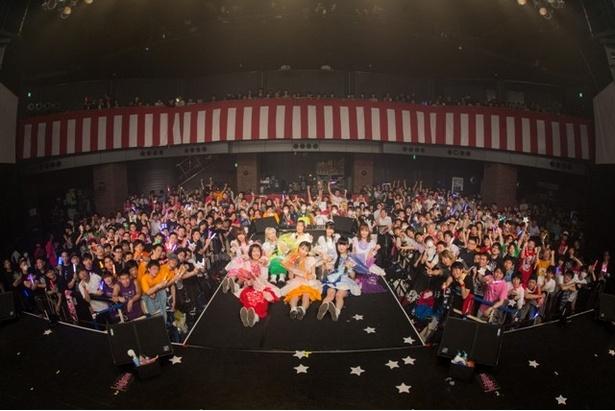 「シダレヤナギ」「マジカルパレード」で熱狂の4周年ワンマンライブは幕が閉じ、FES☆TIVEは5年目へと歩き出していく