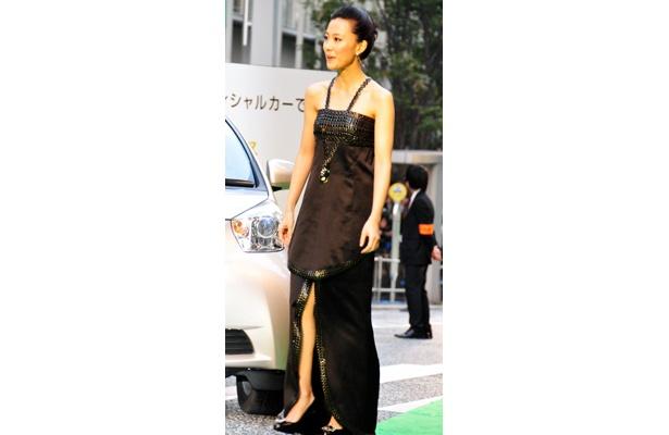 今回の映画祭大使を務める木村佳乃(32)。伊勢谷友介と夫婦役を演じた映画「ブラインドネス」も話題に