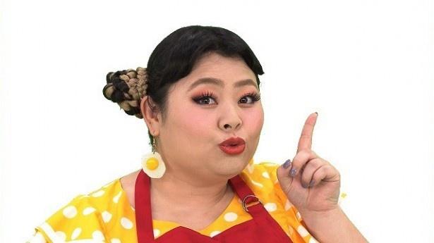 「昼めしキッチン」でナレーション&ダンスを務める渡辺直美