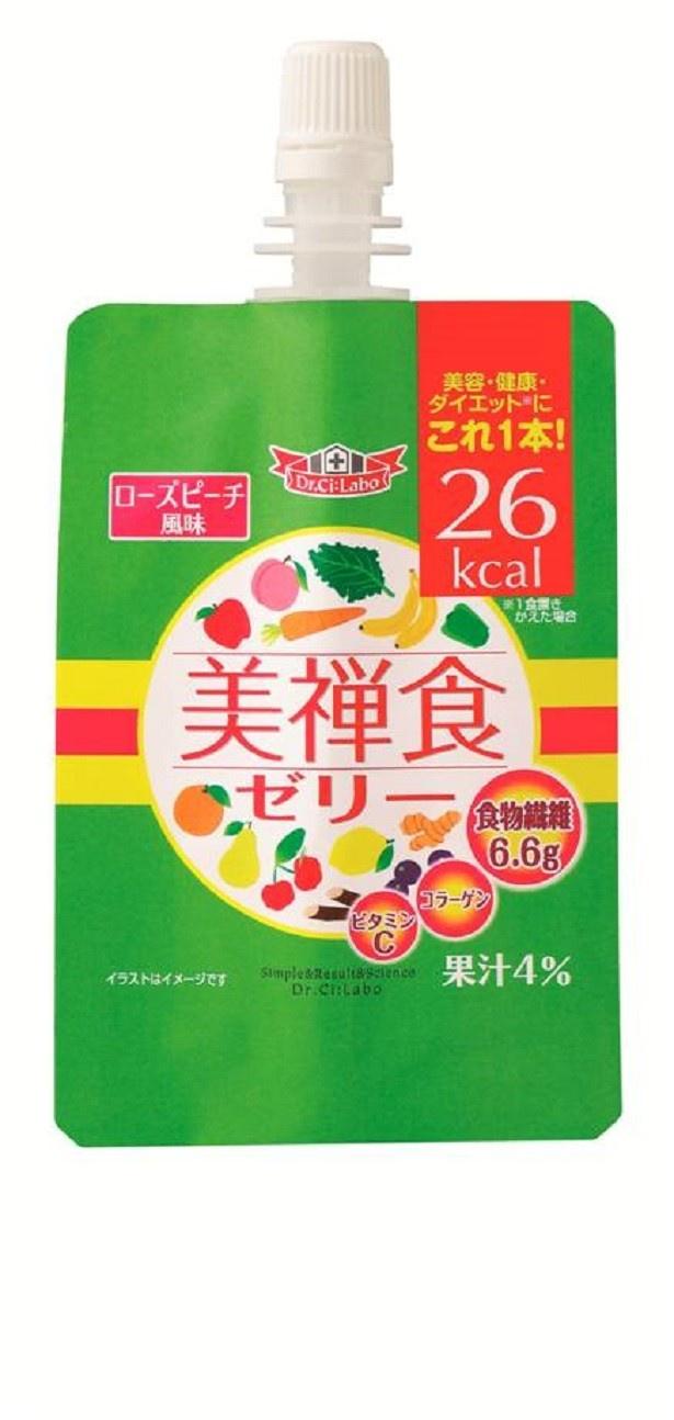 ドクターシーラボの人気NO.1健康食品「美禅食」から食べ応え十分なゼリーが新登場