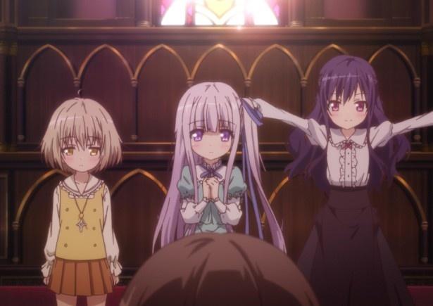 第1話先行上映や生ライブも!TVアニメ「天使の3P!」初のファンミーティング開催が決定