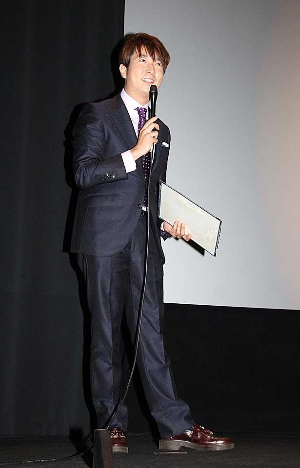 MCは映画コメンテーターの有村昆が務めた