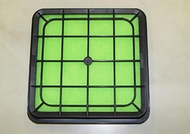 簡単交換できる純正形状のエアフィルター