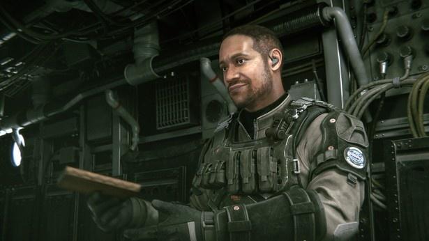 BSAA精鋭部隊チーム「シルバーダガー」の一員・D.C.役として、ダンテ・カーヴァーが出演する