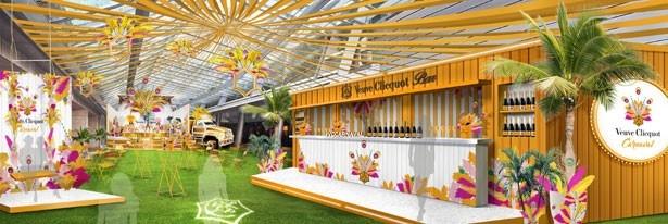 テーマは幻想的なカーニバル!初夏の六本木ヒルズ 大屋根プラザにポップアップバーがオープン