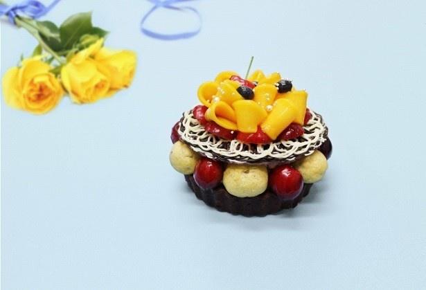 「To my loving Daddy~マンゴーとアメリカンチェリーのチョコレートケーキ~」