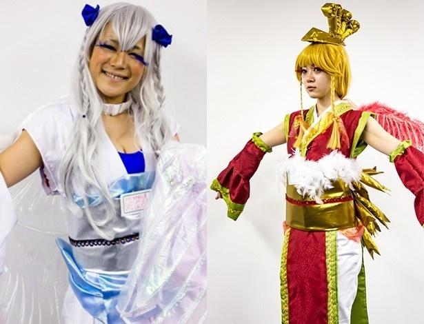 (左)ぽっぽ、(右)のぞみ、ともにドキドキ☆純情ガールズ