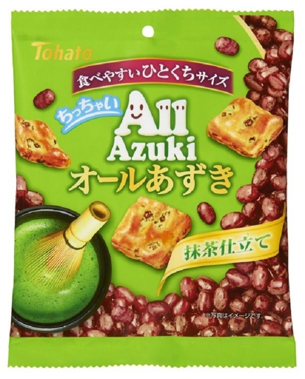 「ちっちゃいオールあずき・抹茶仕立て」(税別122円)