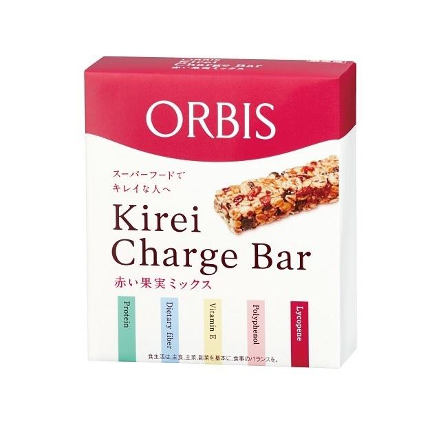 「Kirei Charge Bar(キレイチャージバー) 赤い果実ミックス」(1393円)
