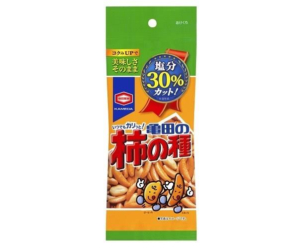 「60g 減塩 亀田の柿の種」