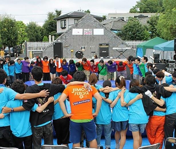 総勢100名の若者が運営する用賀サマーフェスティバル