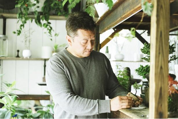 NEO GREEN オーナー、白田 仁さん
