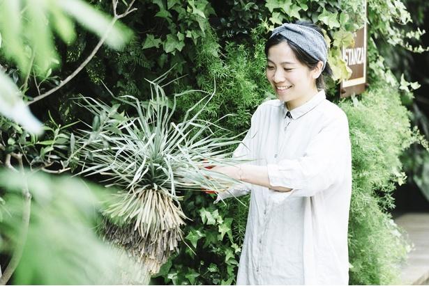 緑演舎 プランナー、槇田法子さん