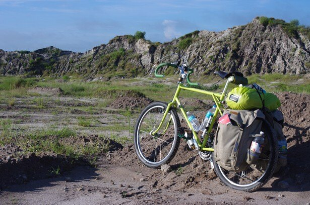 今回のイベントでは、自転車旅にスポットを当てている