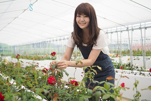 「ROSE LABO」の代表として活躍する田中綾華さん