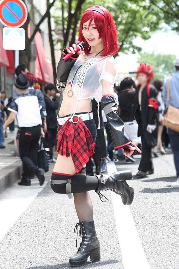 「ラブライブ!」の西木野真姫に扮した一姫さん