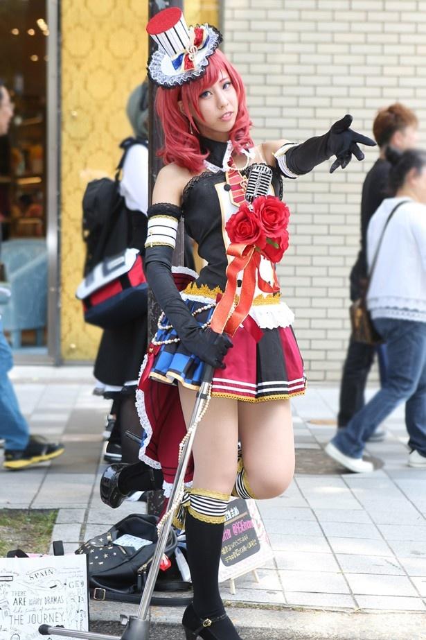 「ラブライブ!」の西木野真姫に扮した珈琲まめさん