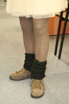 トレッキングブーツと合わせてアウトドア系の着こなしにするのもオススメ