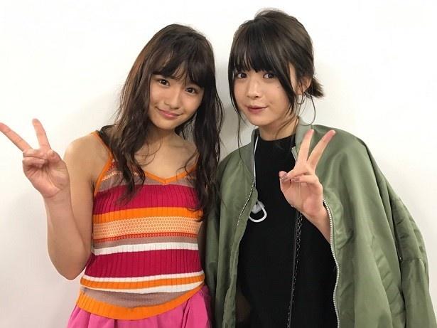 浅川梨奈&馬場ふみかのグラビア界の最強2トップが、初の2ショットをそれぞれのツイッターで披露!