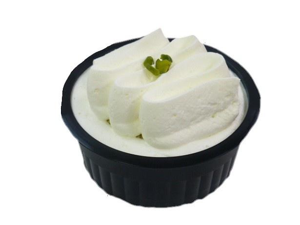 「RIZAP レアチーズケーキ(ブルーベリーソース入り)」(258円)