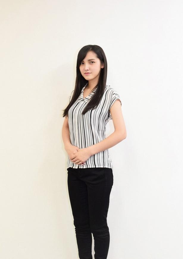 幻想奇譚 白蛇伝」で主演を務める新進気鋭の女優・山下聖菜