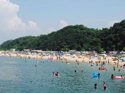 大阪最南端のビーチは水質抜群