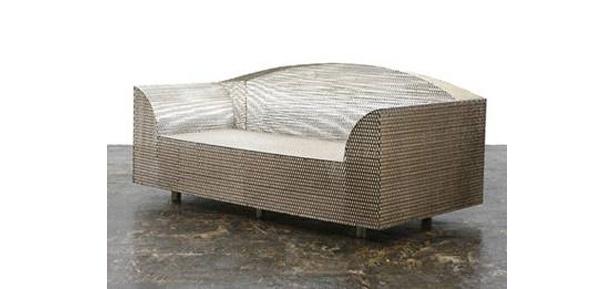 オークションに出品される倉俣史朗のソファー