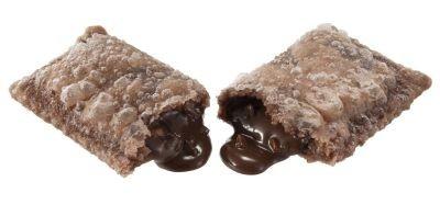 新発売するデザート!ミルクチョコレートの中にローストしたアーモンドが入った「アーモンドチョコパイ」(150円)
