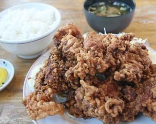 味はしっかり、量はがっつりの北海道らしいザンギが食べたいなら……