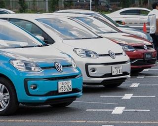 先月発売したばかりの新型車「UP!」をはじめ、フォルクスワーゲンの全モデルが試乗可能!