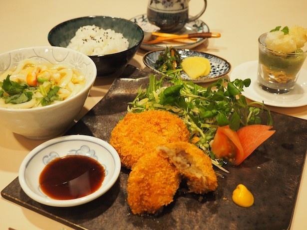 「かぶらや」で販売される、宮沢賢治の食卓コラボレーションメニュー