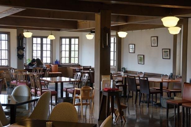 「ダージリン」(540円)など5種の紅茶とスイーツが味わえる美濠カフェ/たねや クラブハリエ彦根美濠の舎