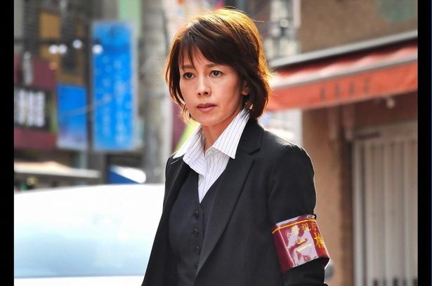 警視庁機動捜査隊の警部補・舞子を演じる沢口靖子