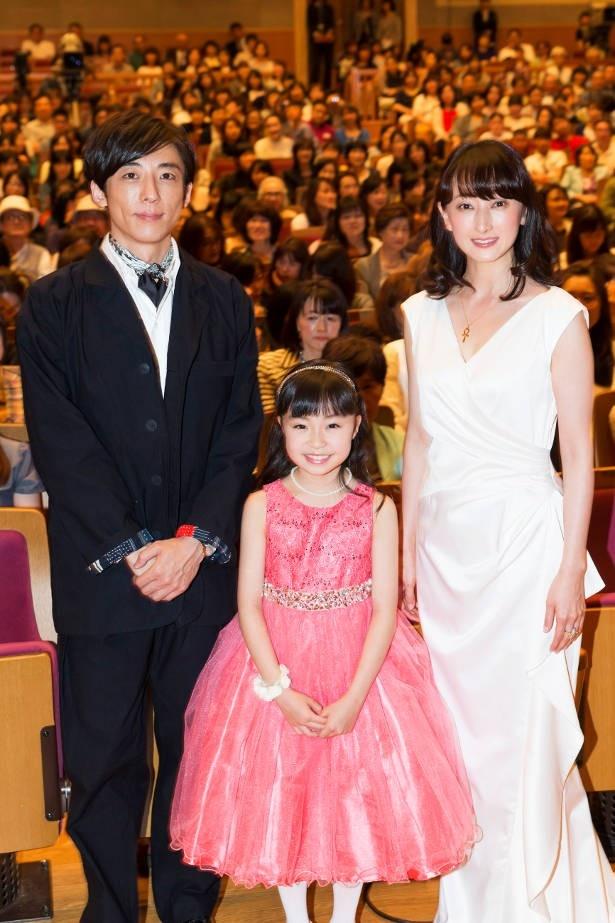 ゲストとして登場した高橋一生、新井美羽、花總まりが「直虎」への思いを語ってくれた