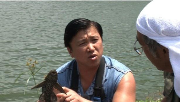 沖縄の純淡水在来魚7種のコンプリートに挑んだスギちゃん