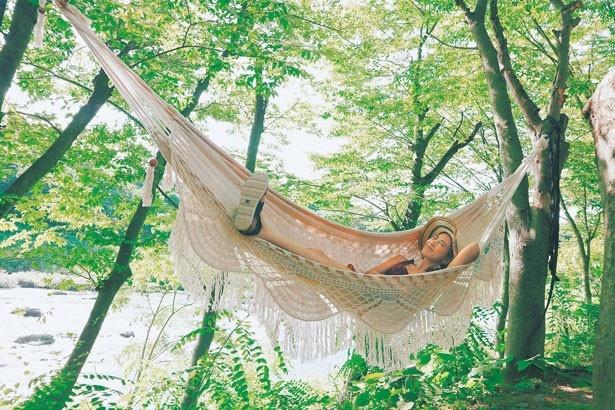 自然の中でリラックス!