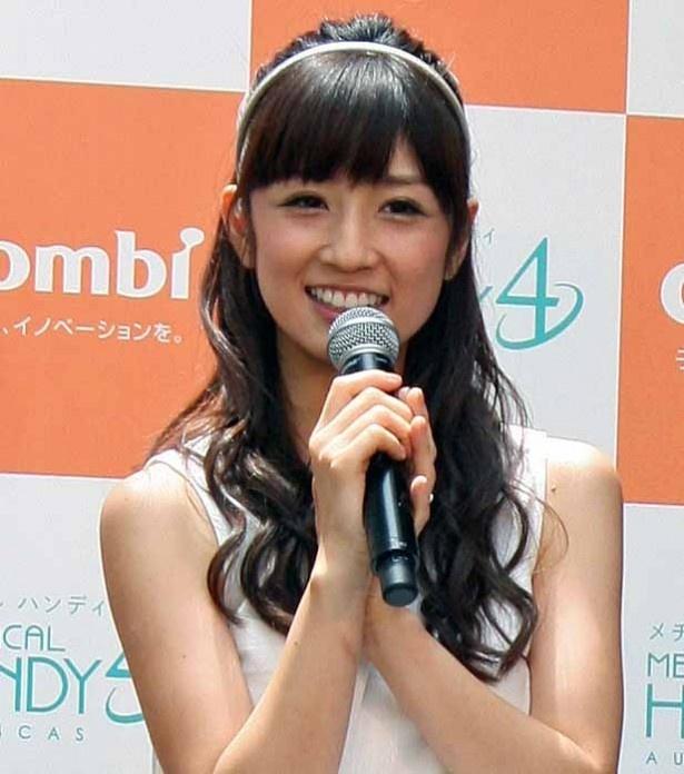 小倉優子さんのポートレート