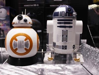 ホームプラネタリウム「ホームスター」がスター・ウォーズの「R2-D2」と「BB-8」型で登場