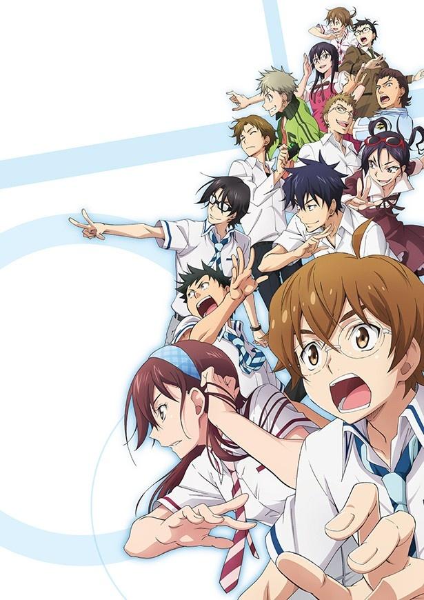 夏アニメ「ナナマル サンバツ」が高校クイズとコラボ。桝太一アナがクイズマスターに!
