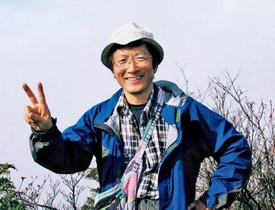 ナビゲートしてくれた、筑波大学付属高等学校社会科教諭の田代博さん。新著「今日はなんの日、富士山の日」が12/18(金)に発売予定